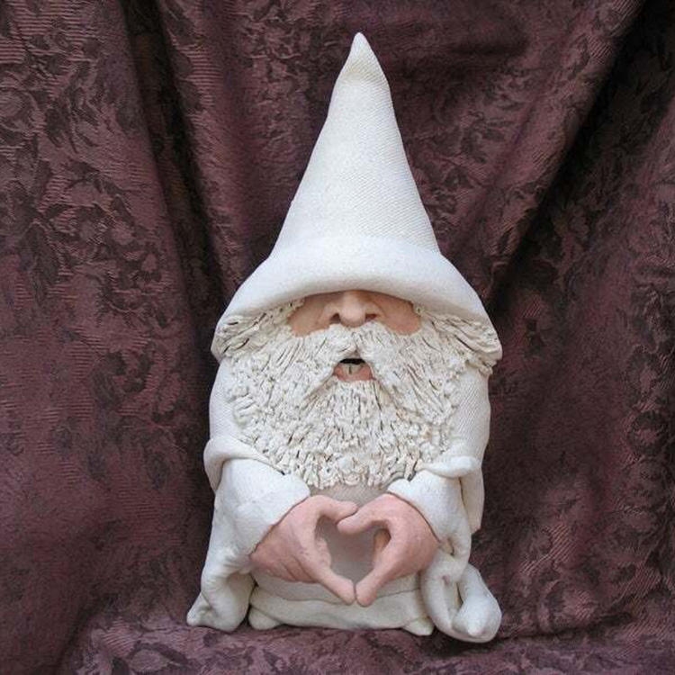 Wholesale cheap Dwarf sculpture Cute Statue Gnome Naughty Garden Gnome for Lawn Ornaments Indoor Or Outdooor Decorations