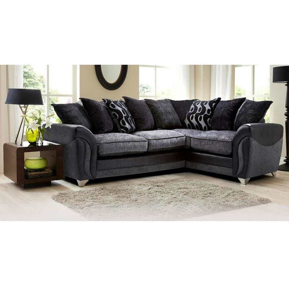 Frank muebles de ventas superior sofá seccional moderna sala dispersos almohadas esquina sofá seccional