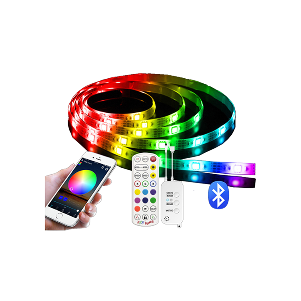 240V 230V 110V 220V RGB 5050 colour change led strip lights with remote 5050 led strip light