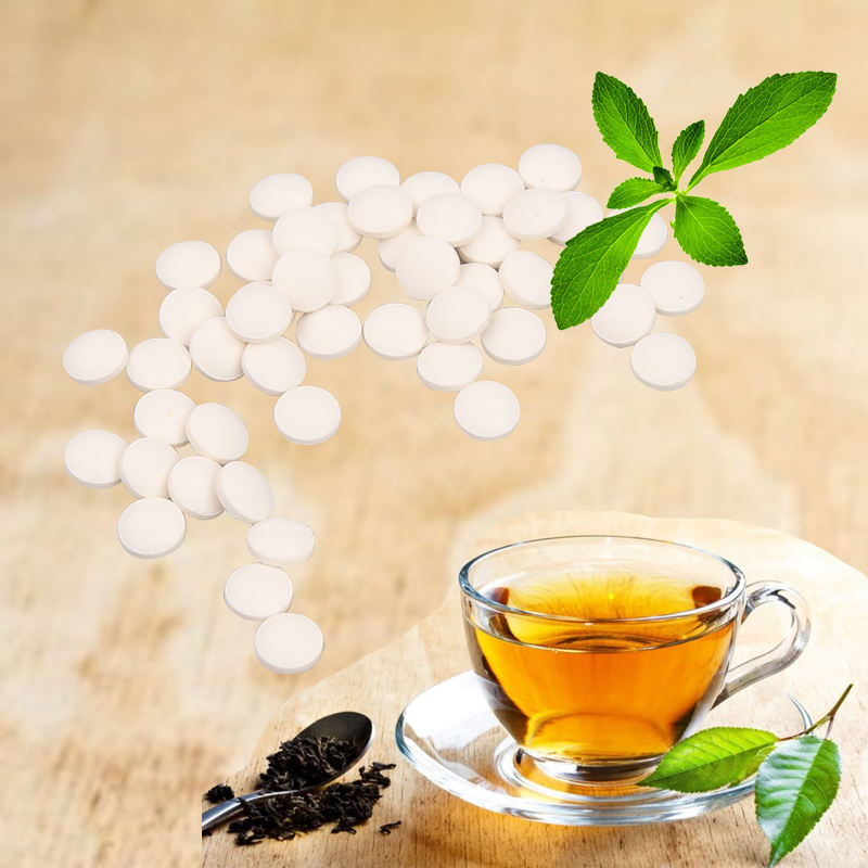 Органические травяные Стевии таблетки для кофе