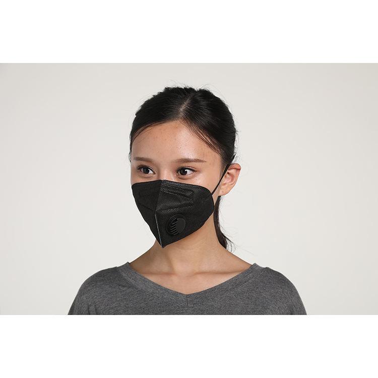Moda Maschera Con Striscia di Spugna Kn95 Piatto Maschera Con Filtro