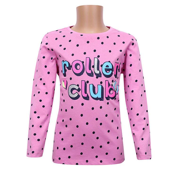 футболки; трикотажная футболка из 100% хлопка с рисунком самолета; футболка с длинными рукавами и резиновым принтом для девочек