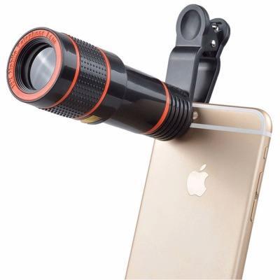 Новый дизайн портативный мини мобильный телефон телеобъектив 8x 12x оптический телескоп мобильного телефона камера зум