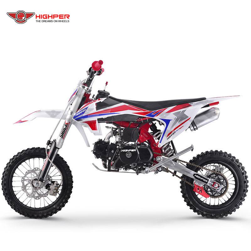 125cc 140cc 4-stroke gas powered off road dirt motor cross pit bike (DB608)