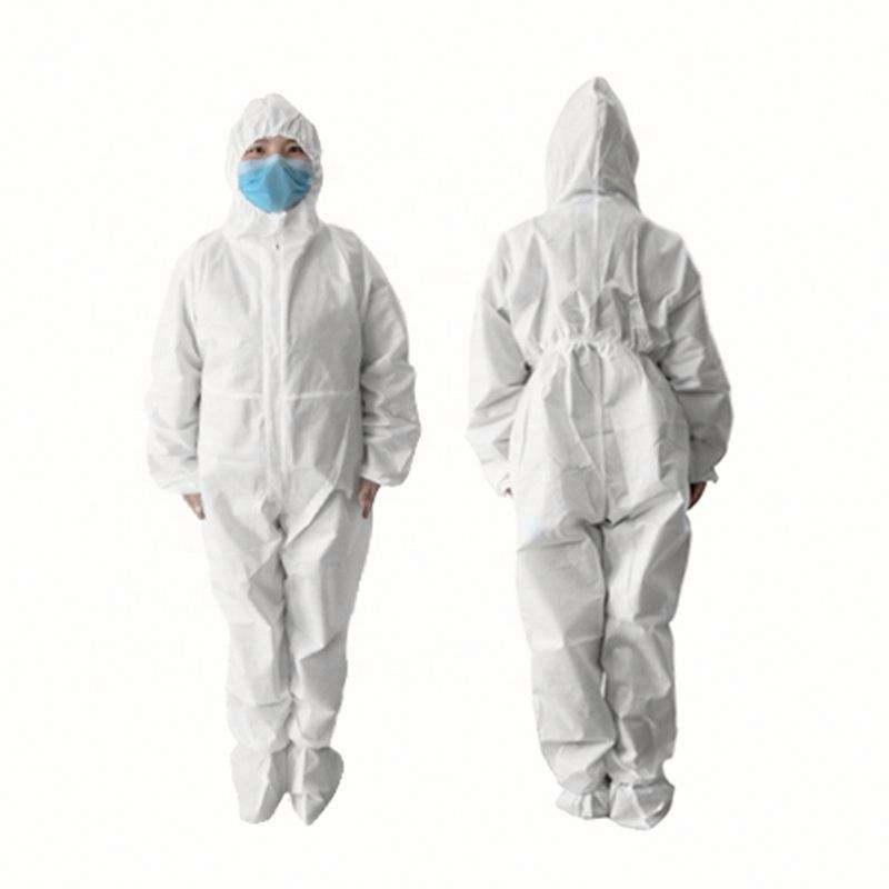 2020 верхняя безопасность Личная Нетканая качественная безопасная одноразовая Защитная одежда для topuse
