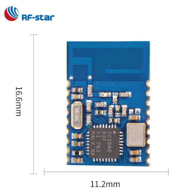 Маленький размер PCB FCC CE CC2640R2F BT5/ble4.2 модуль