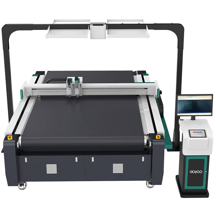 Automatic Feeding Printing Carpet CNC Cutting Machine