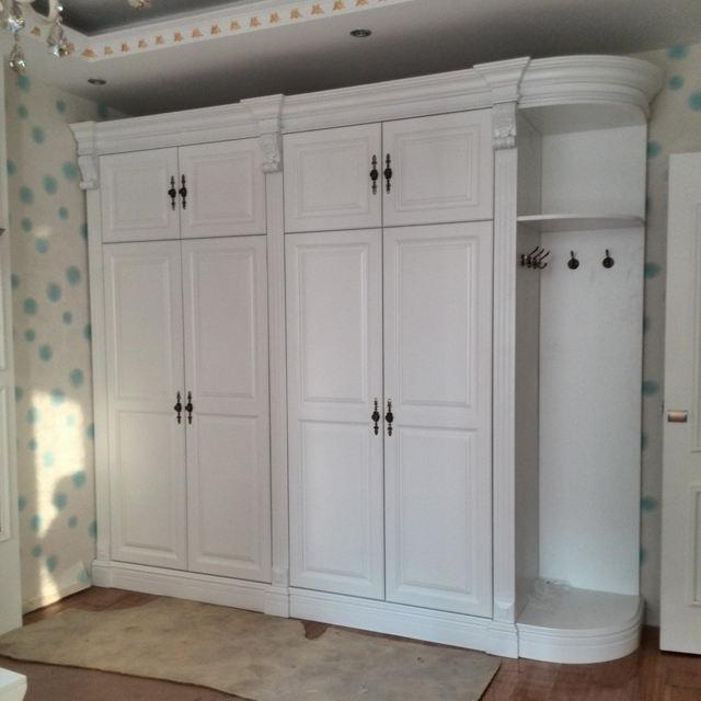 HS-W007 barato casa real mdf design moderno armário da mobília do quarto