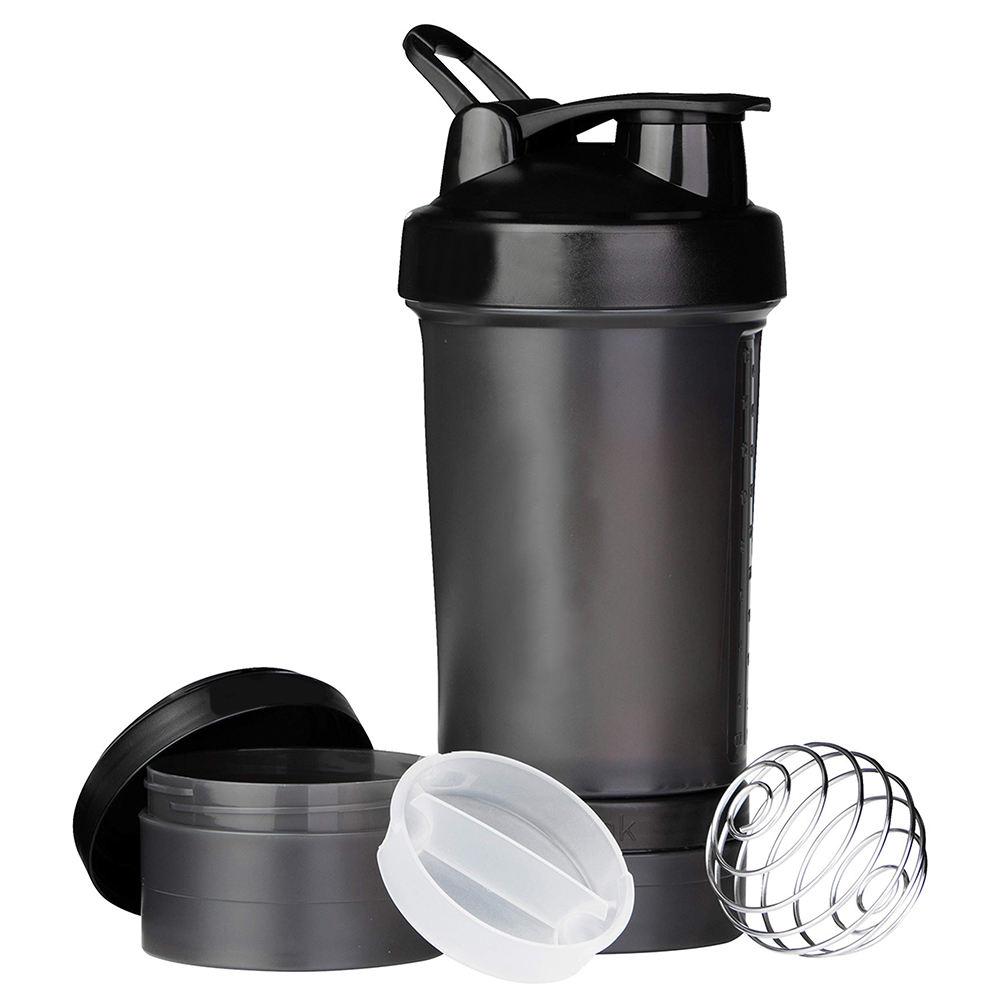 agitador botella de aminoácidos de cadena ramificada ácido de almacenamiento conjunto ejercicio botella de coctelera