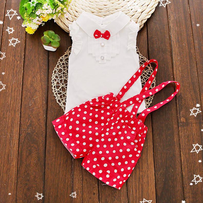 Высокое качество 2019 лето красный Бутик Одежда комплекты одежды для девочек