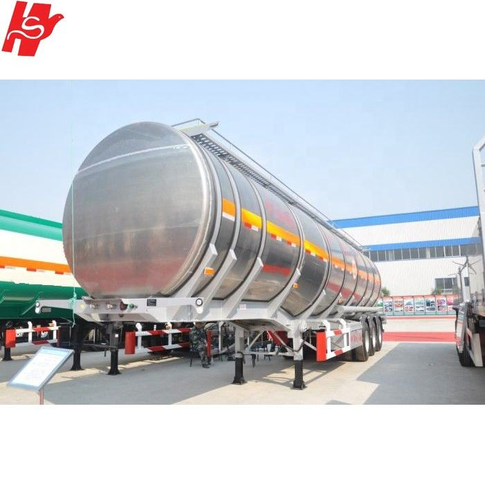 High quality customized 3 axle 40/45/50 CBM CNG tank semi trailer for sale