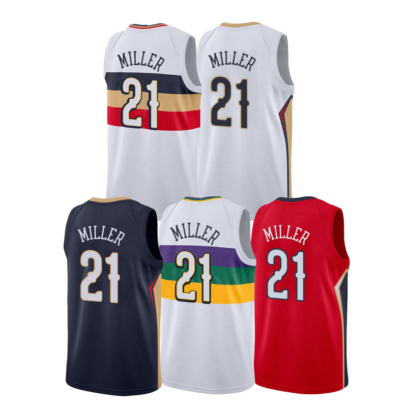 2021 NEW Customize Darius Miller 21 Basketball Jersey Embroidered best quality Uniform 2021 New Arrivals