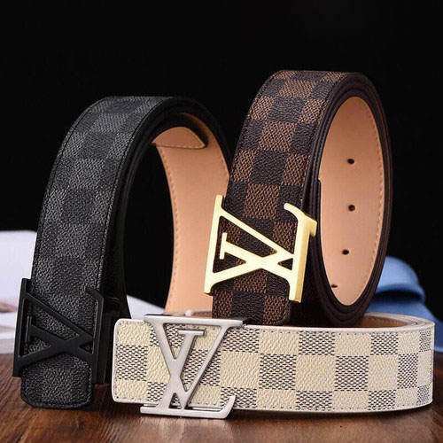 Classic Design Top Luxury Quality Real Leather Famous Branded Belt for Men