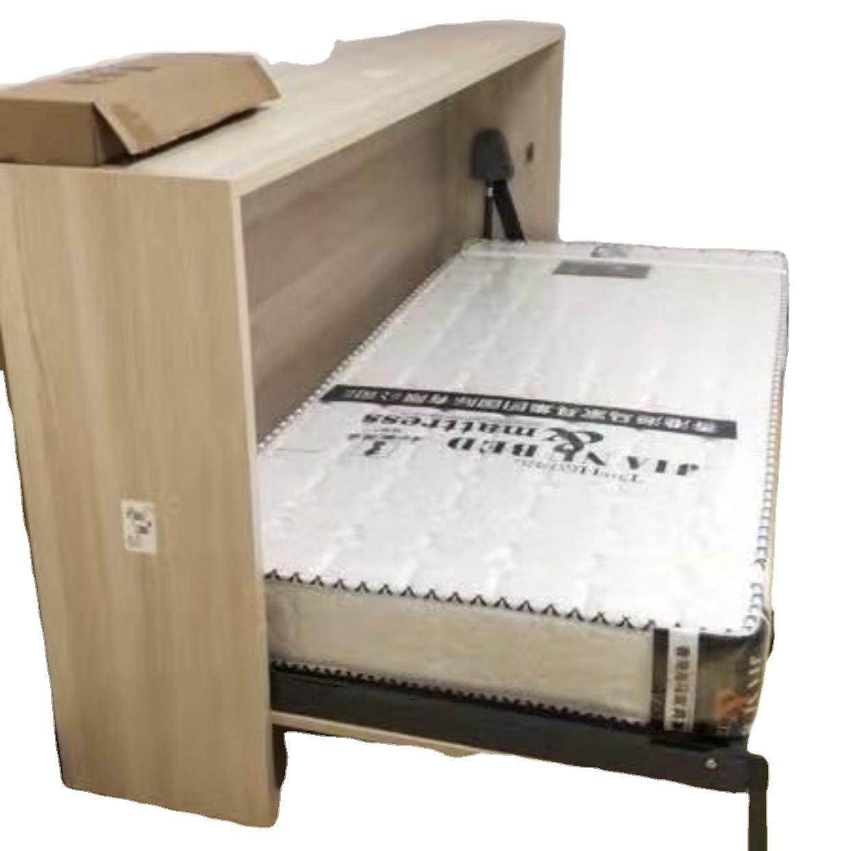 Customization Mdf Beds Modern Cabinet Foldilng Murphy Smart Home Furniture Bed For Living Room Furniture