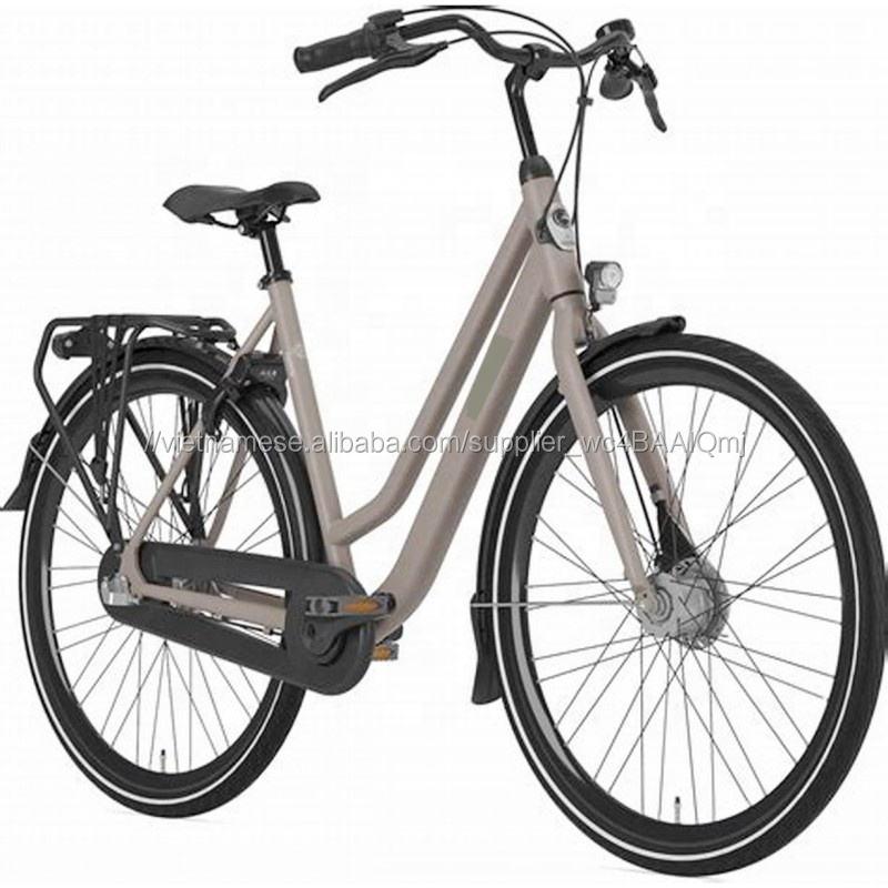 SL-0826114 Tùy Chỉ<span class=keywords><strong>nh</strong></span> 700C Retro Phụ Nữ Ebike Thà<span class=keywords><strong>nh</strong></span> Phố Xe Đạp Điện Xe Đạp Bicicletas Điện citybike