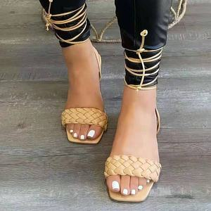 Femmes Summer New modérée compensé et plate Talon Robe Gladiateurs Sandale SZ 5-10
