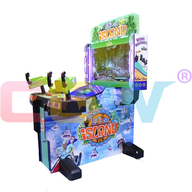 CGW أحدث تسلية داخلي 2 لاعبين رواق فيديو اطلاق النار ماكينة مقاعد ألعاب المحاكاة