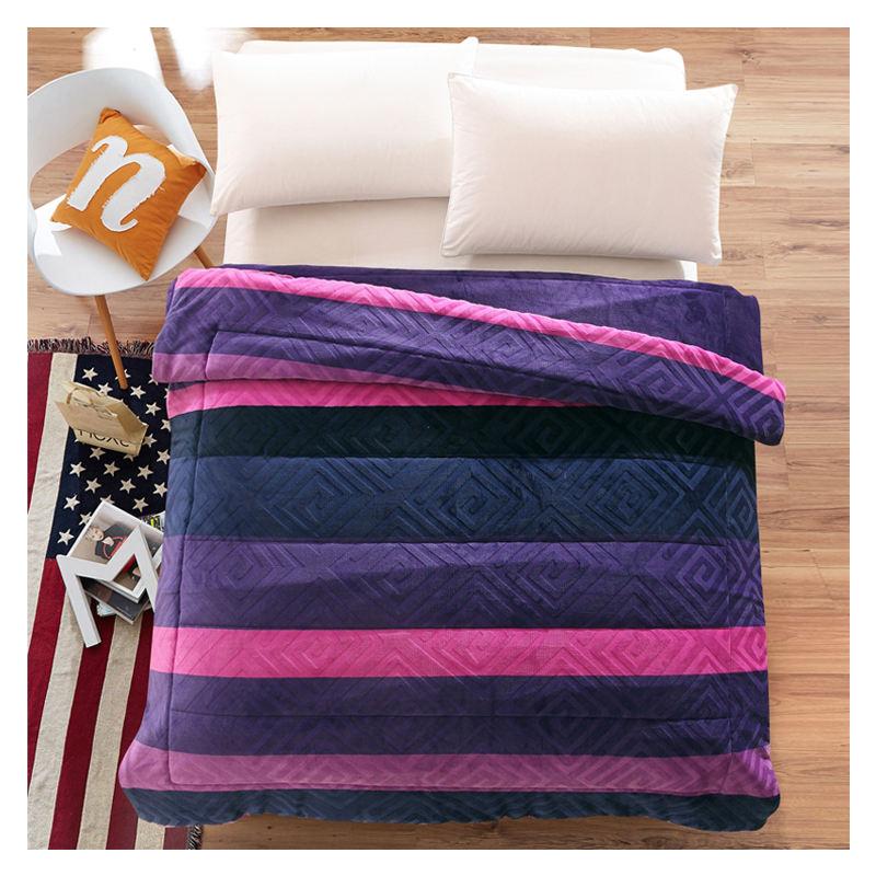 Mohap Cong Flannel Comforter Thiết Cotton 100% Dễ Thương Bộ Comforter