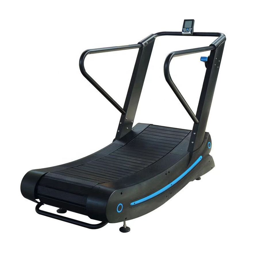 Commercial Fitness Assault Air Runner Woodway Curve Treadmill Without Electricity