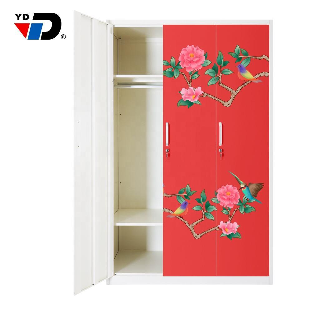 Móveis equipada três portas liberdade muito grande homebase roupeiro armário de pano stand up armário