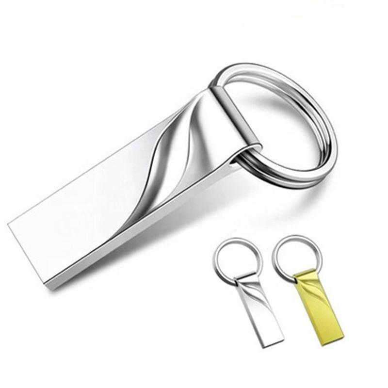 Very Cheap Price Metal Keychain USB Pendrive Real Capacity USB Stick Cartoon Toy Brick Flash USB 2.0