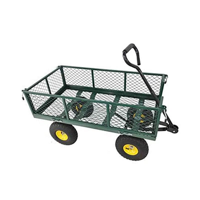 Carrinho de enrolamento de jardim, carrinho de jardim ao ar livre