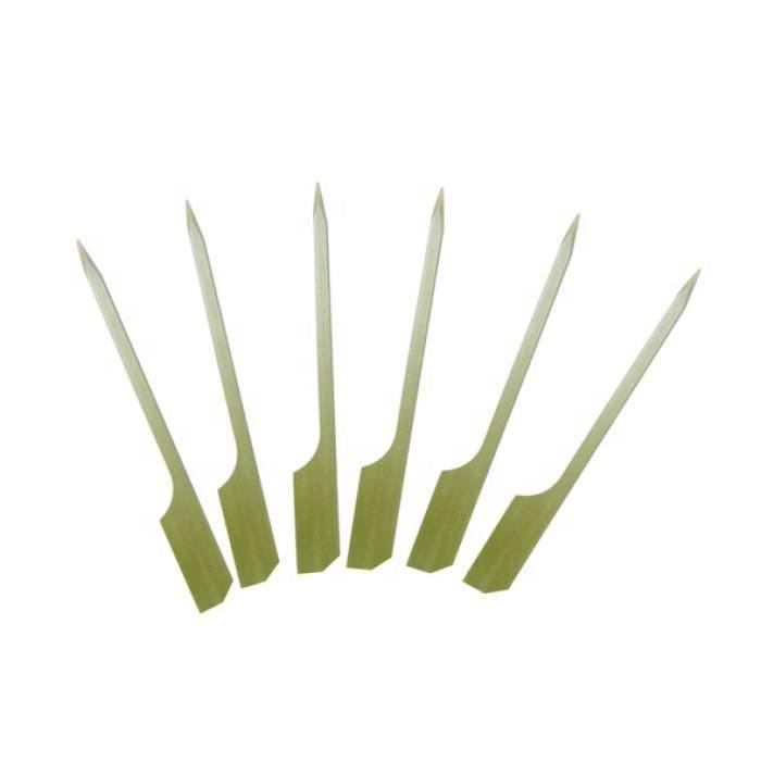 Usa e getta Su Misura Kebab Teppo Paddle Bastoni Di Bambù Spiedo 18 Centimetri