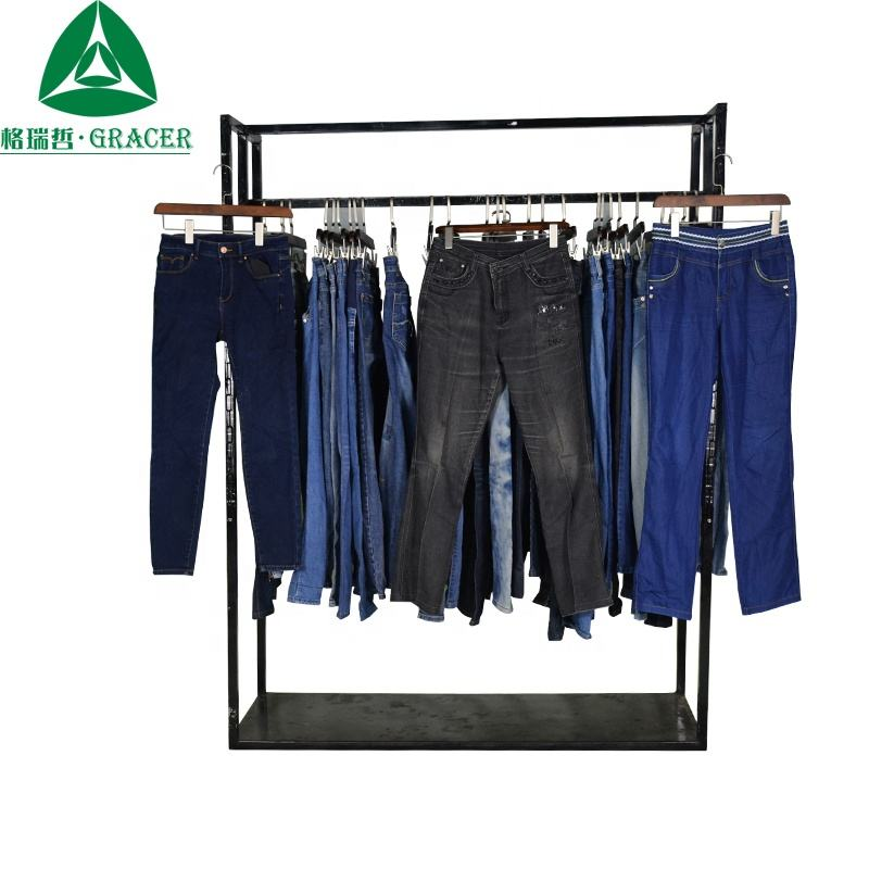 Mix Colour Used Clothing In Italy Used Women Jeans Second Hand Clothing