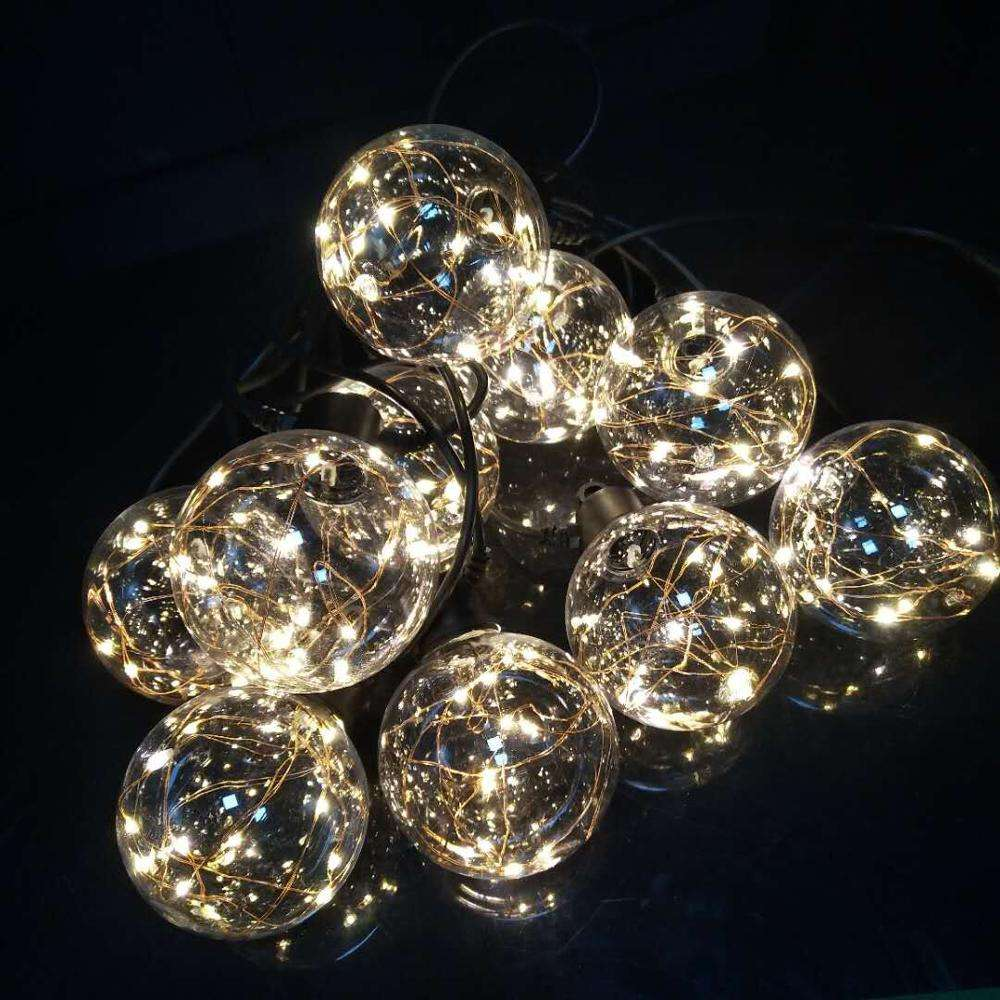 HEISSER VERKAUF NEUER ARTIKEL 5M 10BULBS FAIRY GLOBE LIGHT COPPER WIRE BULB LED STRING LIGHT