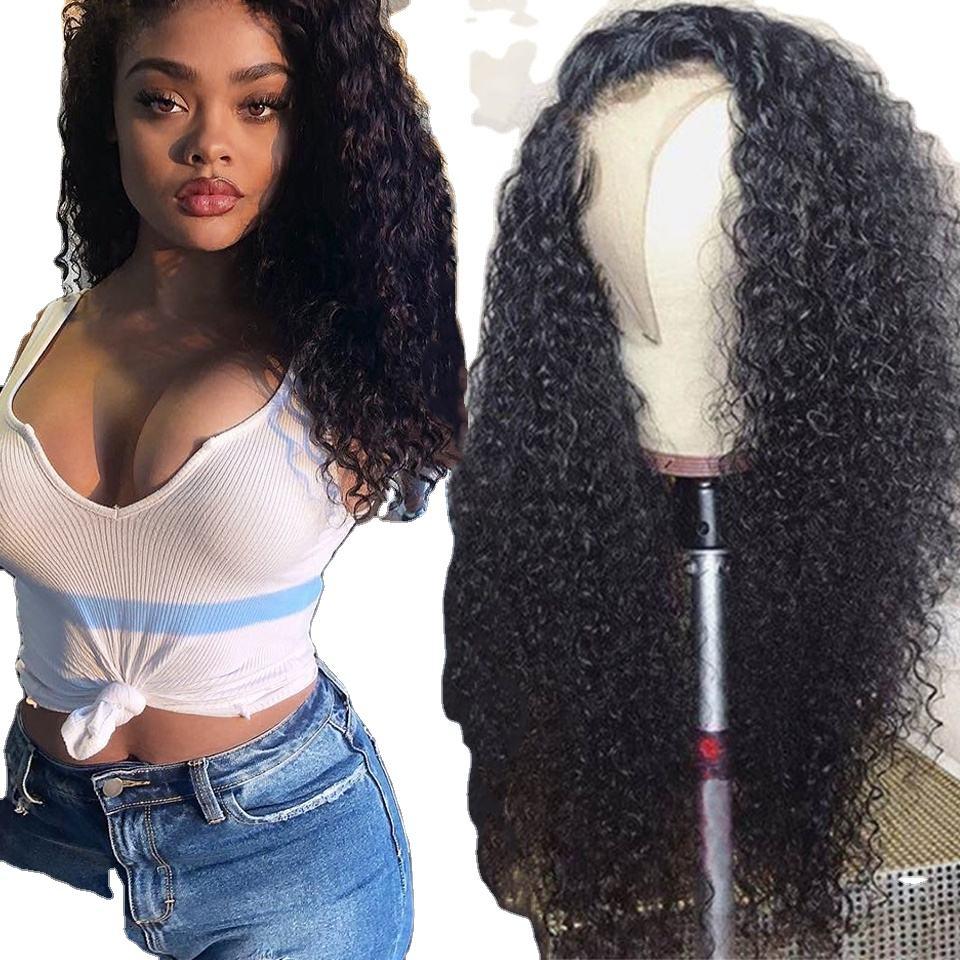 Venta caliente <span class=keywords><strong>Peluca</strong></span> de pelo humano Remy HD frente de encaje <span class=keywords><strong>Peluca</strong></span> de cabello humano para las mujeres negras 150% densidad