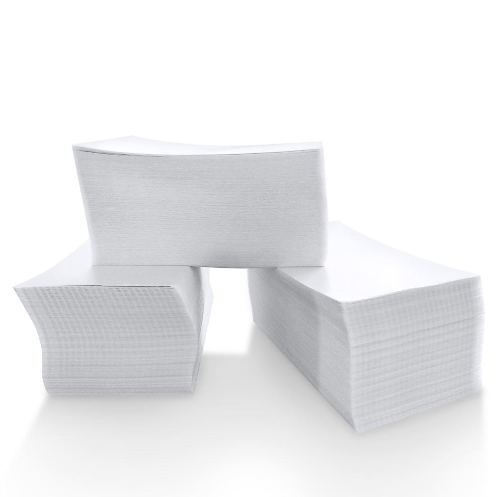 """en continu 4 """"x 6"""" Étiquettes Thermiques Directes Blanc Perforé Zebra Eltron Étiquettes D'expédition (2,000 Étiquettes par Pile)"""