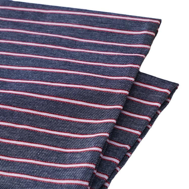 Polo de algodón t material de la Camisa de rayas Piqué tela textil mens polo camisa de punto tela piqué