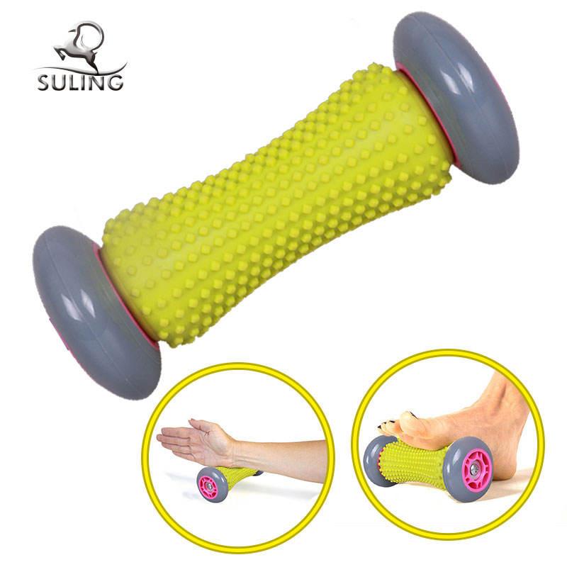 Nuevo diseño al por mayor cuerpo de plástico/pie/cuello <span class=keywords><strong>masaje</strong></span> rodillo de la rueda