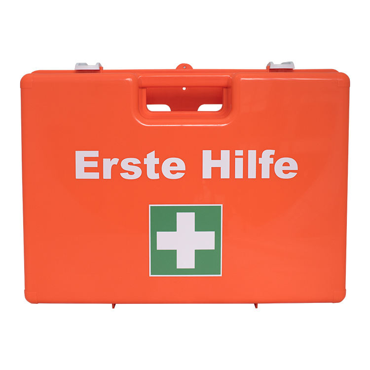 Customized Medical Emergency First Aid Equipment Plastic Case DIN13169 First Aid Kit For Workshop