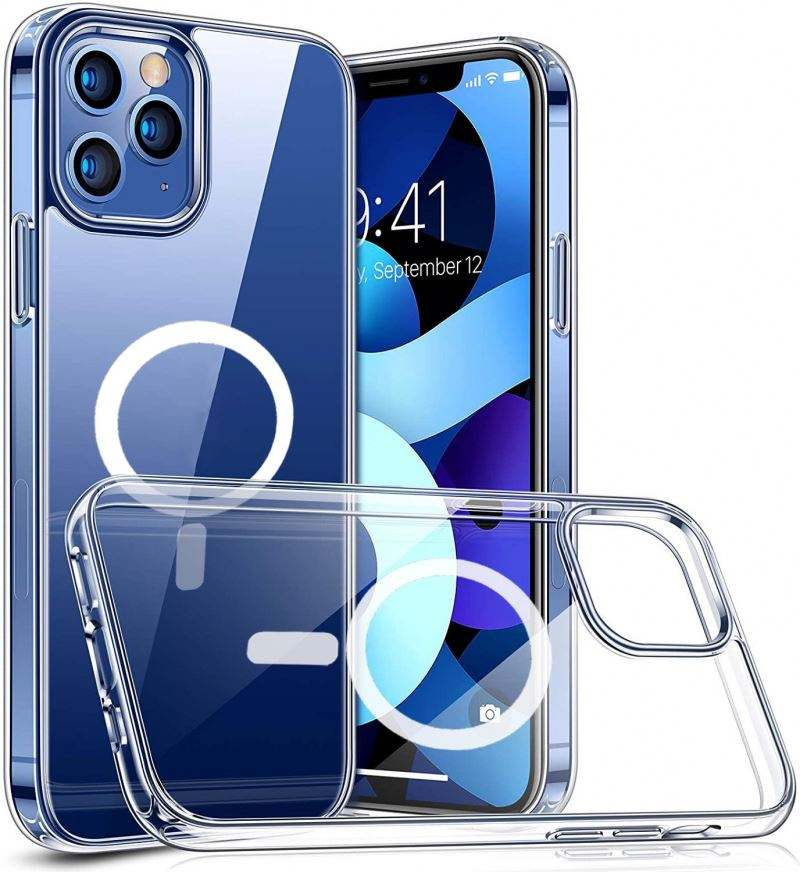 Para Iphone12 caso Iphone 12 2020 del teléfono del Tpu del diseñador de Amazon nueva casos translúcido Series Mini de Apple móvi