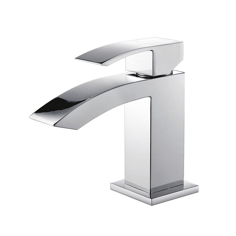 Lead-free Brass CUPC CE Certified Single Handle Basin Vanity Bathroom Water Tap
