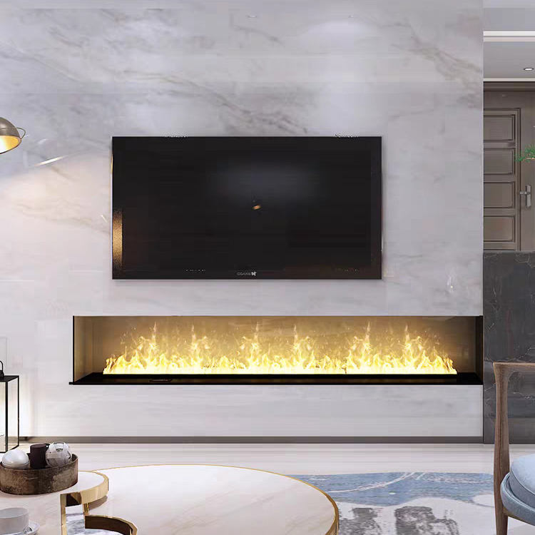 5000mm 3D steam water electric fireplace for indoor