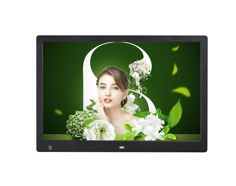 2020 الصين 15 بوصة صور فيديو عرض موقف اطار رقمي LCD الإعلان لاعب مع محس حركة توفير الطاقة