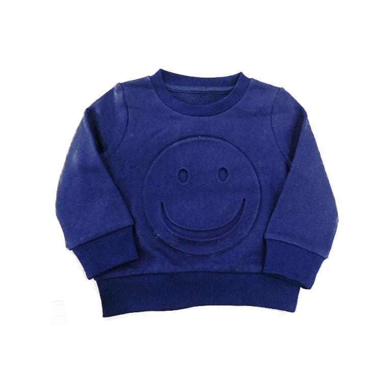 OEM удобный вязаный синий Детский свитер