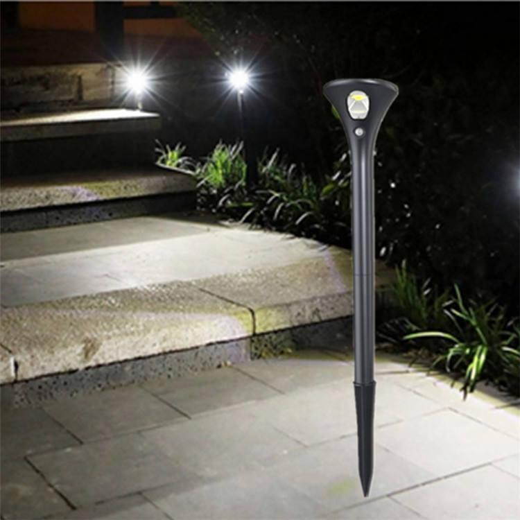 Al aire libre al IP65 <span class=keywords><strong>spike</strong></span> lámparas IR sensor 0,5 w Solar LED jardín luz camino césped uso