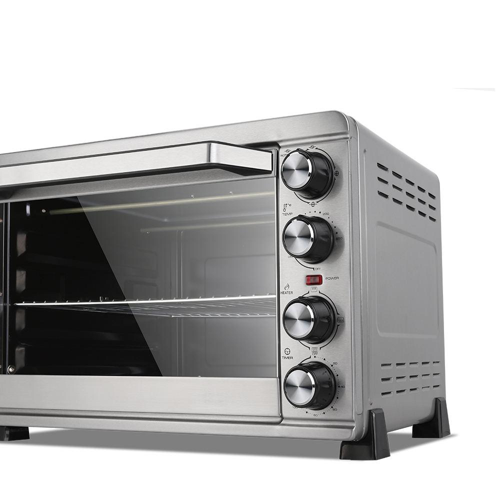 43 litros 2000 W forno de pizza elétrico mini forno elétrico forno de cozimento with120 60mins timer Grill Convecção