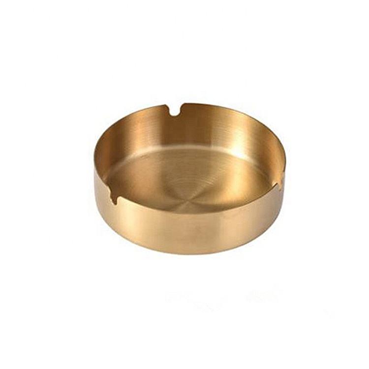 Wholesale CNC Processing Customize Brass Portable Ashtray