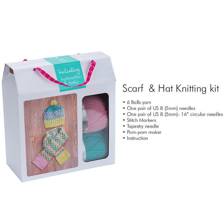 Mädchen DIY nette handwerk set hand stricken kreative design handwerk erstaunliche knitter kits