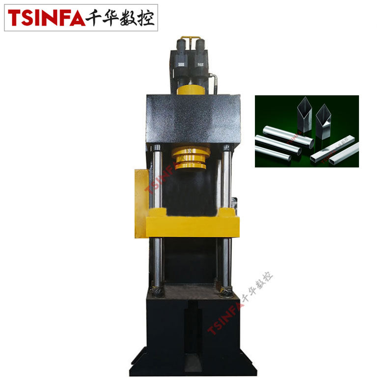 Copper steel aluminum sleeve parts punching shearing bending mechanical maintenance single column type C hydraulic press machine