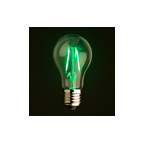 A60 2W E27/B22 Dimbare Led Lamp <span class=keywords><strong>Lampen</strong></span> Groene Kleur