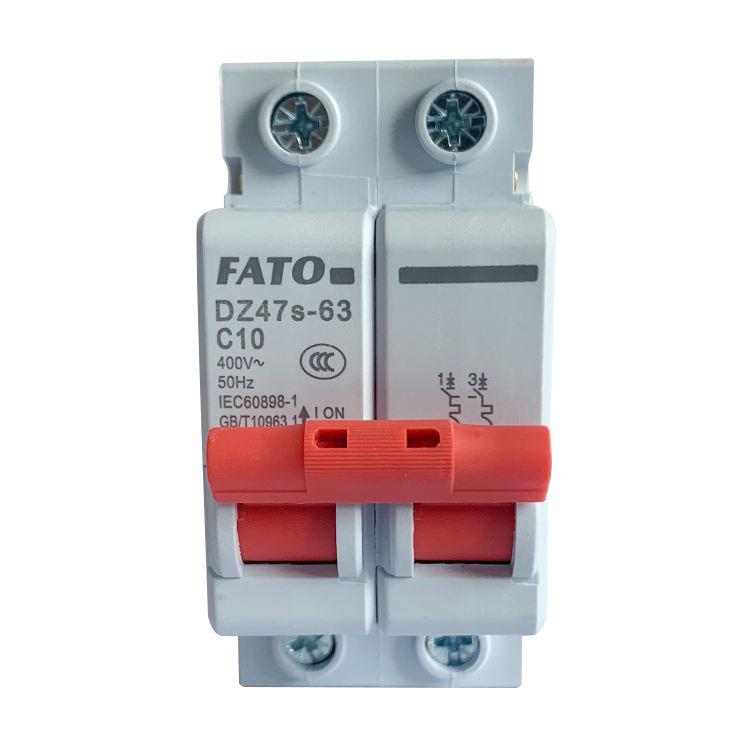 FATO elektrische 230v einphasig fi-schutzschalter 63amp circuit breaker
