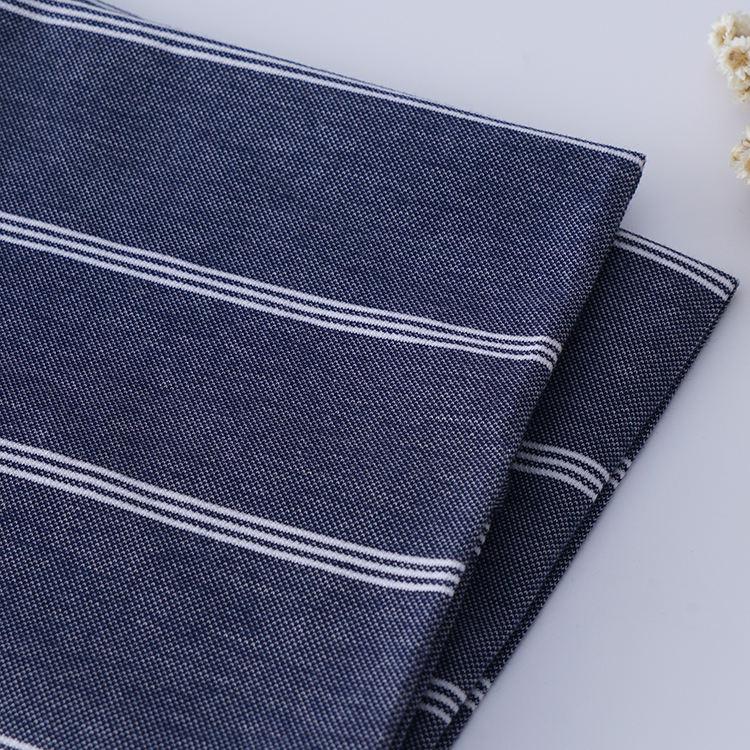 97% algodón 3% spandex camisa polo rayas tela textil 170gsm pique hombre t tela de la camisa