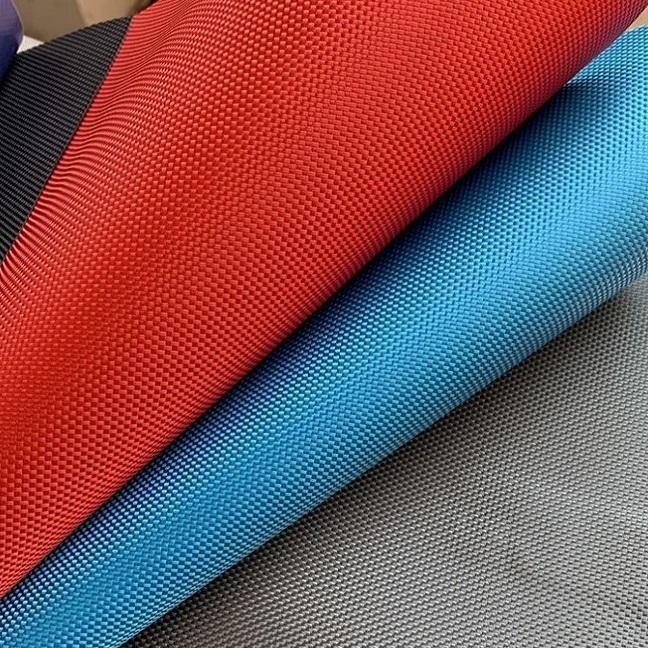 1680D revestimiento de PA poliéster Material de la tienda impermeable tela de PVC Oxford