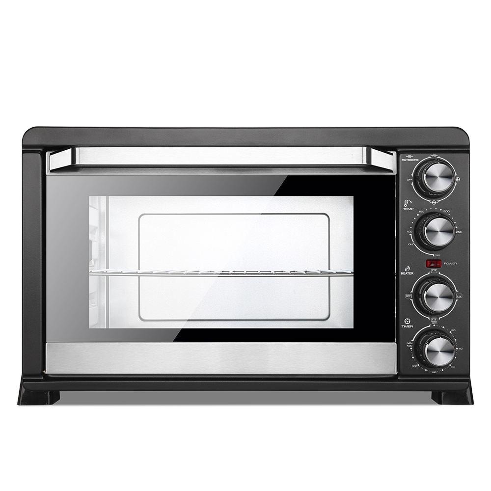 Casa 43 litros 2000 W máquina de fazer pão torradeira elétrica forno de pizza forno elétrico Churrasqueira forno Torradeira