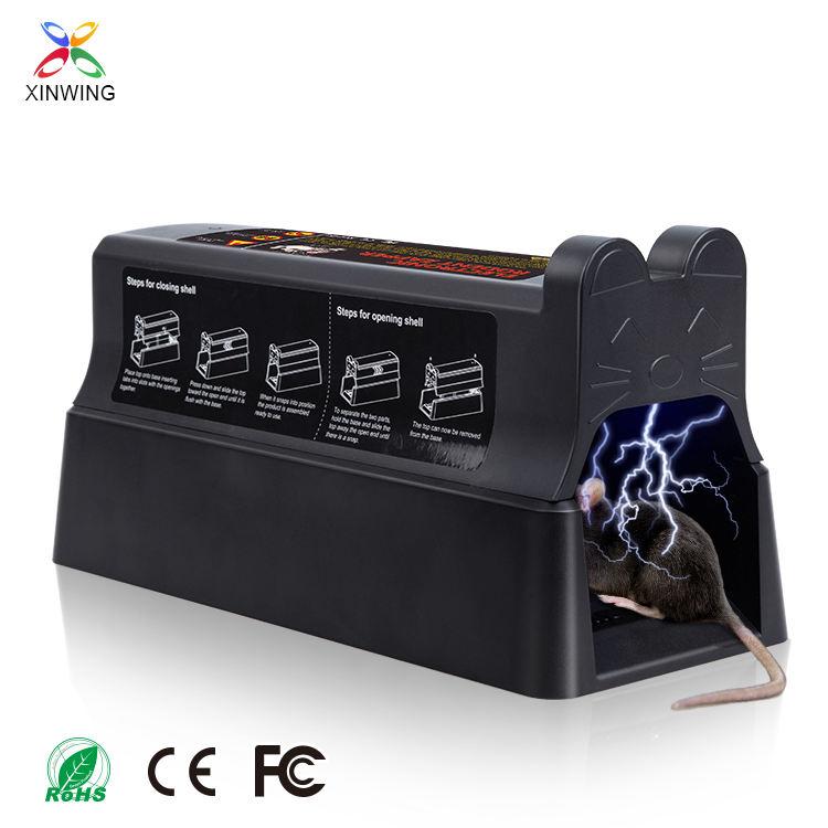 FCC CE ROHS certificación 7000V ratón electrónico trampa inteligente asesino de ratas <span class=keywords><strong>productos</strong></span>